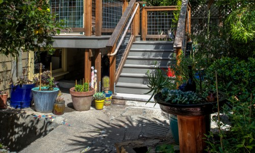North Oakland Backyard